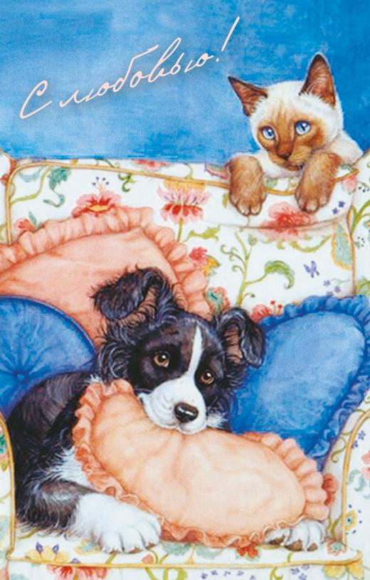 Поздравительная открытка в винтажном стиле №280ОТКР №280Поздравительная открытка в винтажном стиле