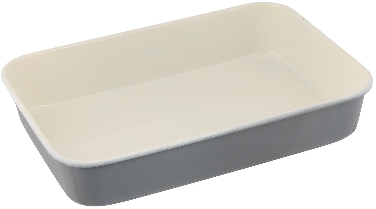 Противень Mayer & Boch, с керамическим покрытием, прямоугольный, цвет: серый, 40 х 28 х 7,6 смWLT-2105-419Противень Mayer & Boch выполнен извысококачественной углеродистой стали иснабжен антипригарным керамическимпокрытием, что обеспечивает ему прочность идолговечность. Противень равномерно и быстропрогревается, что способствует лучшемупропеканию пищи. Его легко чистить. Готоваявыпечка без труда извлекается. Противеньподходит для использования в духовке смаксимальной температурой 250°С. Передкаждым использованием противень необходимосмазать небольшим количеством масла.Простой в уходе и долговечный в использованиипротивень Mayer & Boch станет вернымпомощником в создании ваших кулинарныхшедевров.Не рекомендуется мыть в посудомоечноймашине. Размер противня: 40 х 28 х 7,6 см.Толщина стенки противня: 0,6 мм.