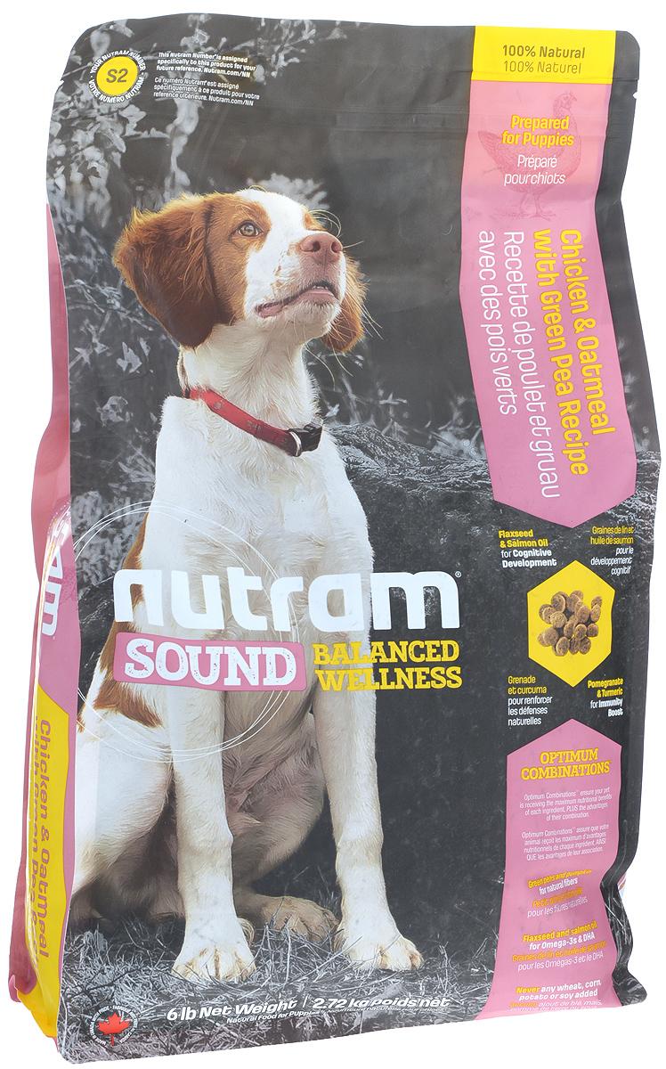 Корм сухой Nutram Sound Puppy для щенков, 2,72 кг83094Целостный, полезный, богатый питательными веществами корм Nutram Sound Puppy улучшает самочувствие и здоровье питомцев по принципу изнутри наружу. Подход Nutram к целостному питанию начинается со здорового развития. Семена льна и жир лососевых рыб - источники Омега-3 жирных кислот, поддерживают развитие мыслительных процессов у щенков. Смесь граната, богатого полифенолами, и куркумы, источника куркумина, позволяет системе Оптимальных Сочетаний снабжать питомцев антиоксидантами, которые помогают поддерживать иммунную систему. Вы можете быть уверены, щенок будет здоровым, а его питание будет вкусным и полезным.Содержит мясо курицы, овсяную муку и зеленый горошекНатуральная клетчатка тыквы помогает сделать переход от материнского молока к корму более легкимЖир лососевых рыб и семена льна используются в качестве источника полиненасыщенных и Омега-3 жирных кислотНе содержит пшеницу, кукурузу, картофель или сою в любом виде.Состав: дегидрированное мясо курицы, мясо курицы без костей, овсяная мука, коричневый рис, перловая крупа, куриный жир, зеленый горошек, льняное семя, натуральный ароматизатор курицы, дегидрированное мясо лосося, цельные яйца, сушеная свекольная масса, томатный жмых, яблоко, морковь, жир лососевых рыб, тыква, хлористый калий, Di-метионин, хлорид холина, гранат, клюква, морская соль, корень цикория (пребиотик), клетчатка из подорожника, витамины и минералы (витамин Е, А, D3, В3, С, В5, В1, В2, бета-каротин, В6, В9, В7, В12, протеинат цинка, сульфат меди, протеинат марганца, оксид марганца, йодат кальция, селенит натрия), юкка шидигера, шпинат, семена сельдерея, мята перечная, ромашка, куркума, имбирь, розмарин сушеный.Гарантированный анализ: протеин минимум 27%, жир минимум 17%, клетчатка максимум 3%, вода максимум 10%, зола максимум 8%, кальций минимум 1%, фосформинимум 0,9%, омега-3 минимум 0,65%, омега-6 минимум 2,6%, докозагексаеновая кислота минимум 0,01%.Товар сертифицирован.