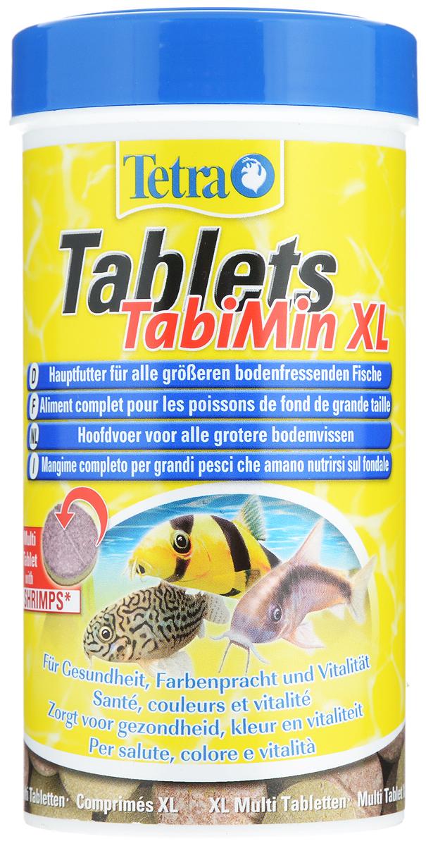 "Корм Tetra ""Tablets TabiMin XL"" для всех видов крупных донных рыб, 250 мл (135 г), 133 таблетки"