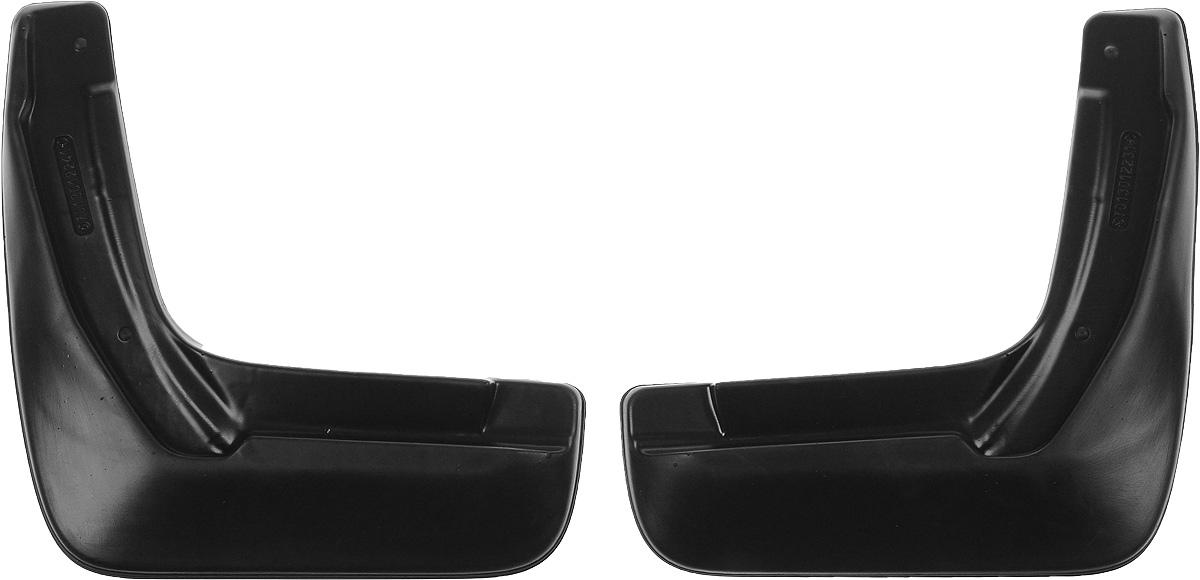 Комплект задних брызговиков L.Locker, для Honda CR-V (06-), 2 шт7013012261Комплект L.Locker состоит из 2 задних брызговиков, изготовленных из высококачественного полиуретана. Уникальный состав брызговиков допускает их эксплуатацию в широком диапазоне температур: от -50°С до +80°С. Изделия эффективно защищают кузов автомобиля от грязи и воды, формируют аэродинамический поток воздуха, создаваемый при движении вокруг кузова таким образом, чтобы максимально уменьшить образование грязевой измороси, оседающей на автомобиле. Разработаны индивидуально для каждой модели автомобиля. С эстетической точки зрения брызговики являются завершением колесных арок.Установка брызговиков достаточно быстрая. В комплект входят необходимые крепежи и инструкция на русском языке. Комплект подходит для моделей с 2006 года выпуска. В комплект входит 2 самореза.Комплектация: Брызговик - 2 шт,Саморез - 2 шт.Размер брызговика: 32 х 34 х 3 см.