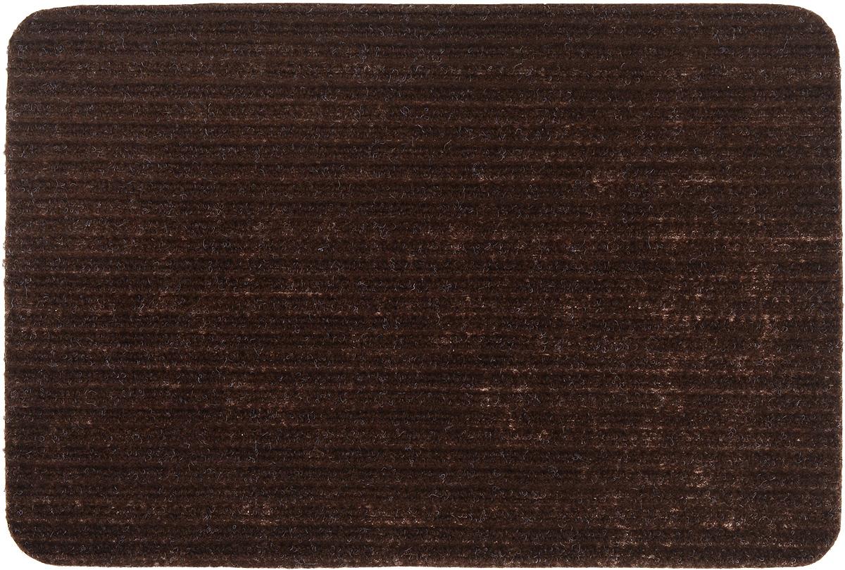 Коврик придверный Vortex Simple, влаговпитывающий, цвет: коричневый, 60 х 40 см22073_коричневыйВлаговпитывающий придверный коврик Vortex Simple, выполненный из полипропилена, предназначен для использования внутри и снаружи помещения.Такой коврик надежно защитит помещение от уличной пыли и грязи.