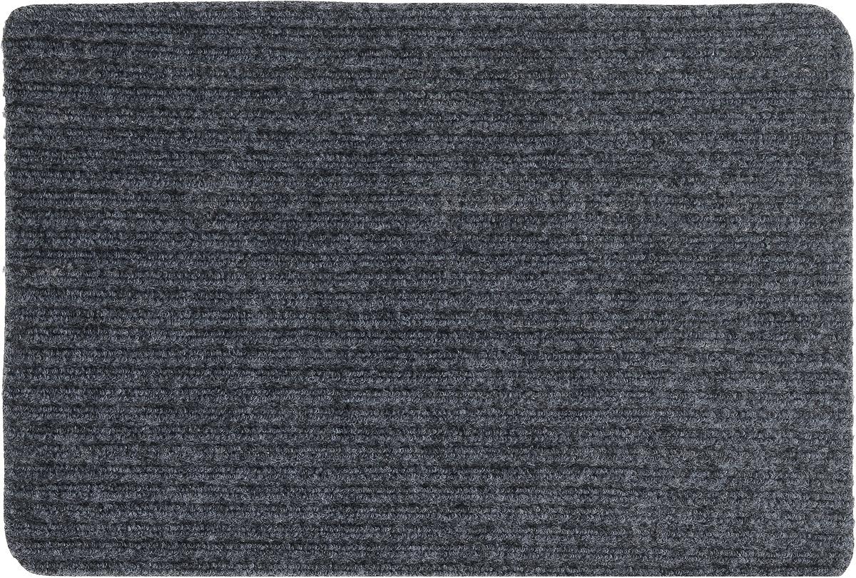 Коврик придверный Vortex Simple, влаговпитывающий, цвет: темно-серый, 60 х 40 см22073_серыйВлаговпитывающий придверный коврик Vortex Simple, выполненный из полипропилена, предназначен для использования внутри и снаружи помещения.Такой коврик надежно защитит помещение от уличной пыли и грязи.