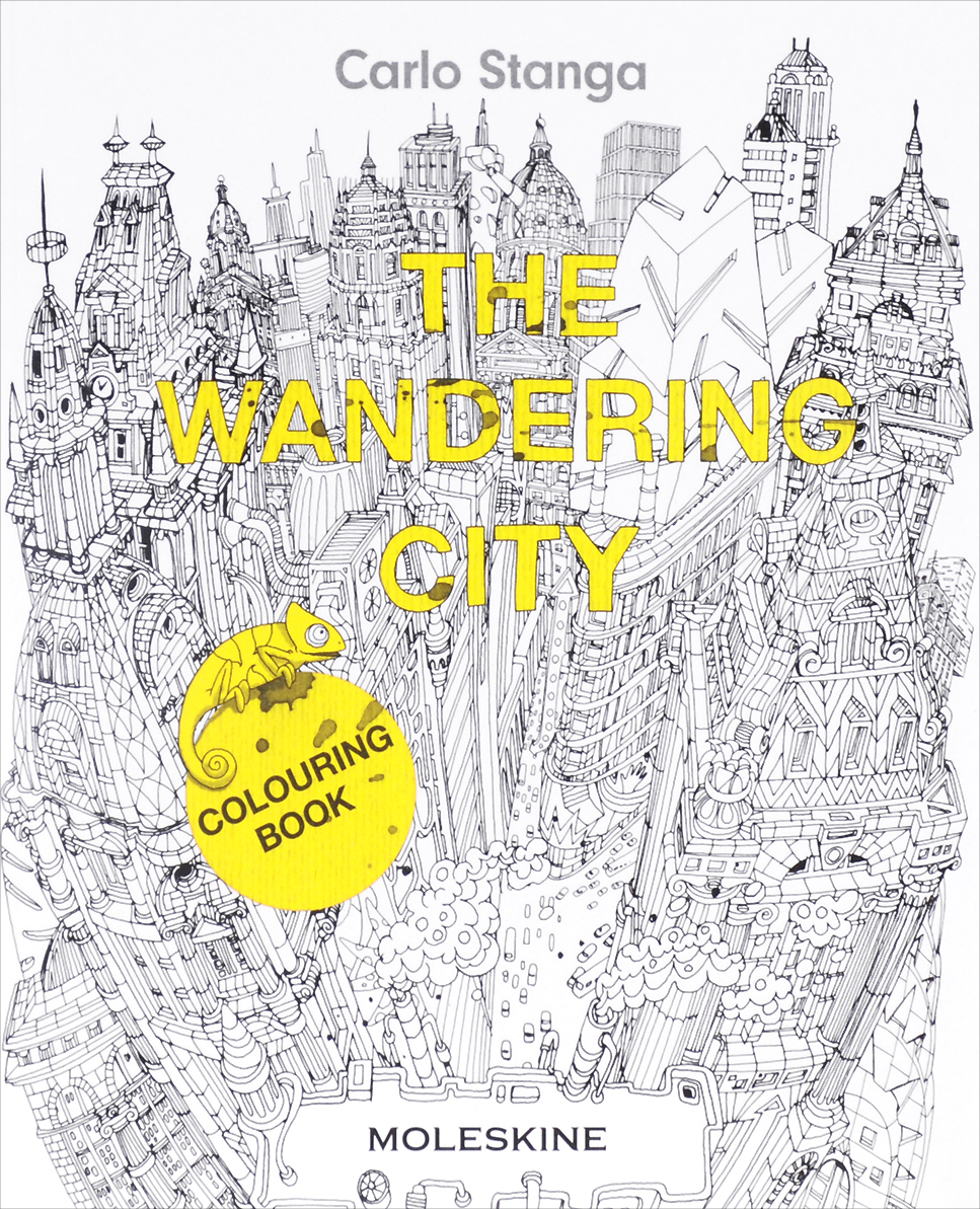 The Wandering City: Colouring Book the wandering falcon