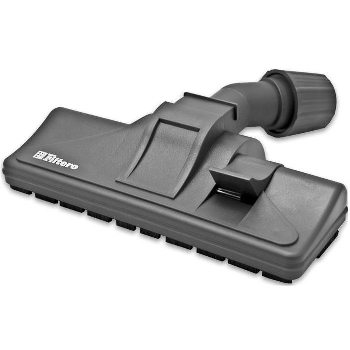 Filtero FTN 06 насадка для пылесосаFTN 06Filtero FTN 06 - комбинированная насадка пол - ковер с колесиками, с шириной рабочей зоны 26 см. Она оснащенауниверсальным зажимом, который обеспечивает возможность использования насадки с большинством пылесосовизвестных марок, с диаметром удлинительной трубки 30-37 мм.Насадка Filtero FTN 06 с удобным в переключении 2-х позиционным переключателем жесткий пол - коверпозволяет производить уборку любых напольных покрытий. Наличие колесиков предотвращает появлениецарапин на жестких полах и обеспечивает более плавный ход на мягких покрытиях.