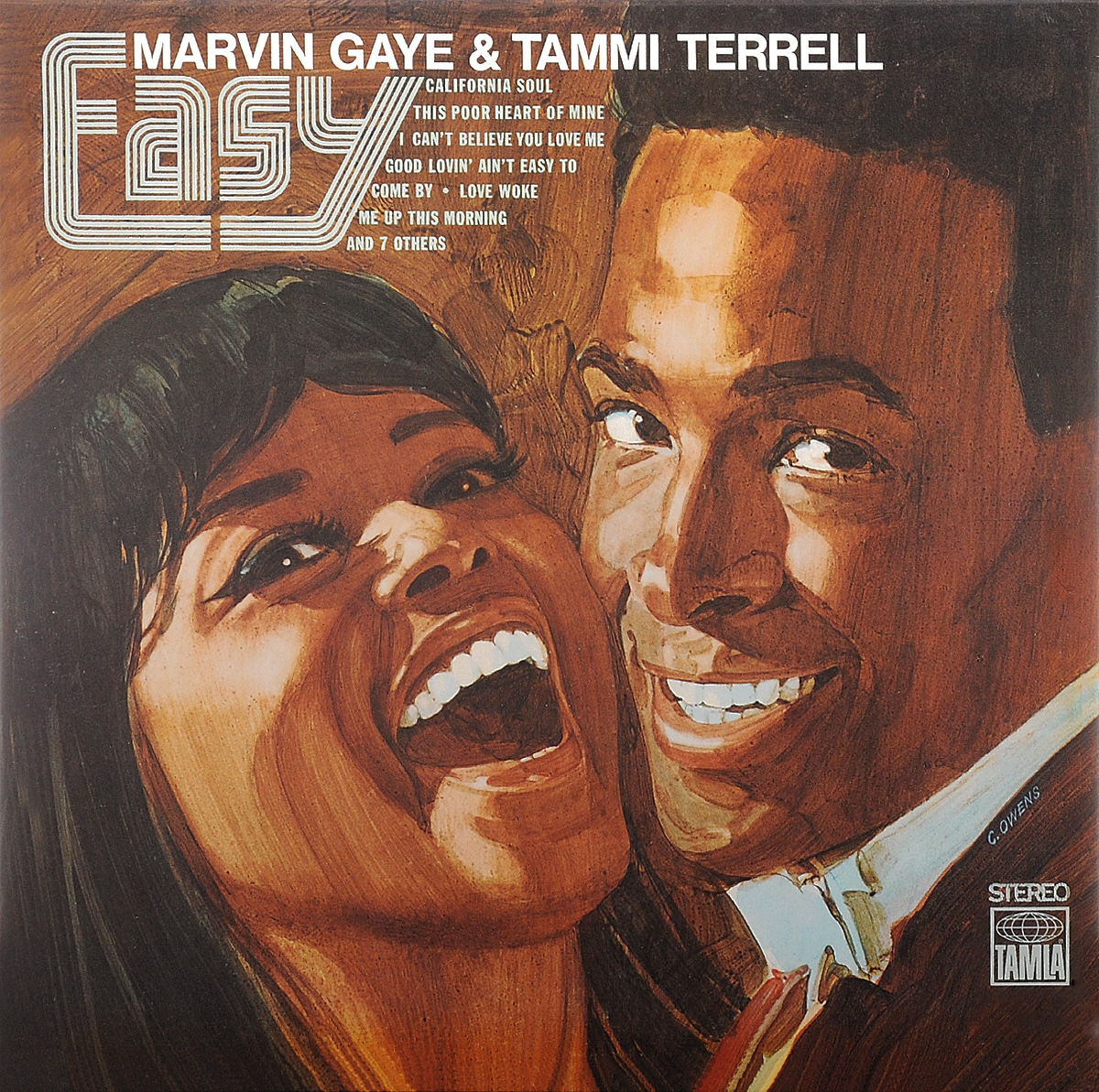 Marvin Gaye & Tammi Terrell. Easy (LP)