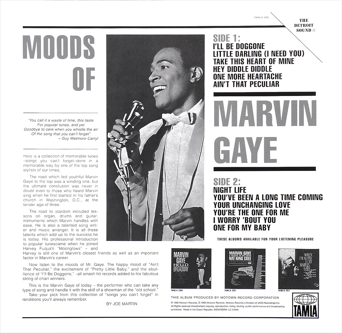 Marvin Gaye.  Moods Of Marvin Gaye (LP) ООО