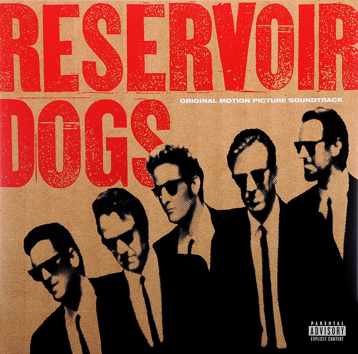 Reservoir Dogs. Original Motion Picture Soundtrack (LP) django unchained original motion picture soundtrack 2 lp