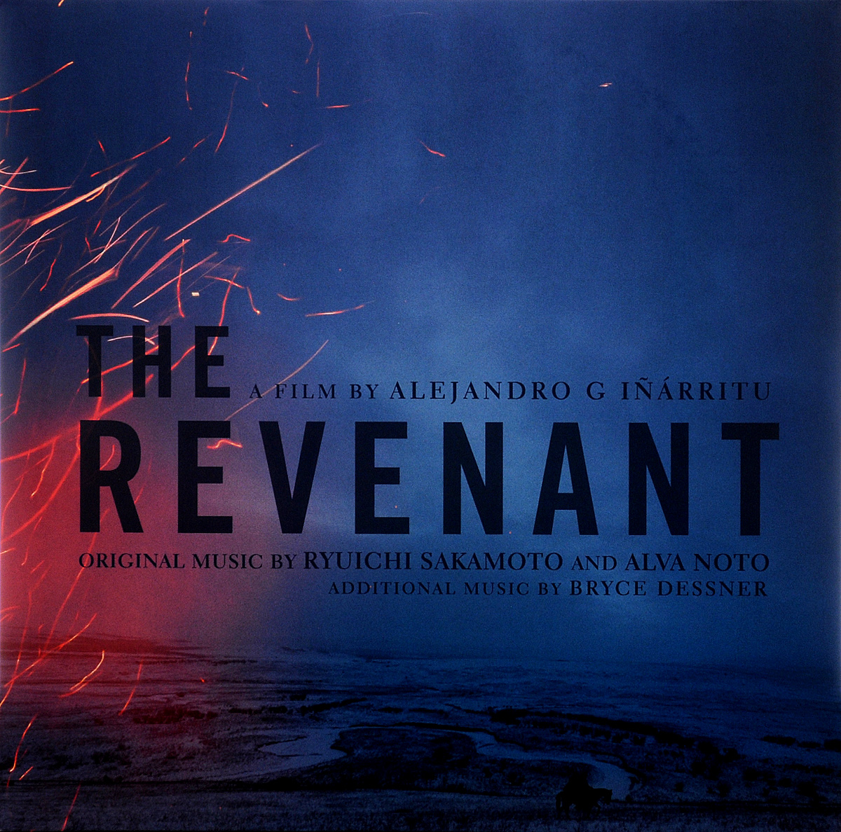 Ryuichi Sakamoto, Alva Noto, Bryce Dessner. The Revenant. Original Motion Picture Soundtrack (2 LP)