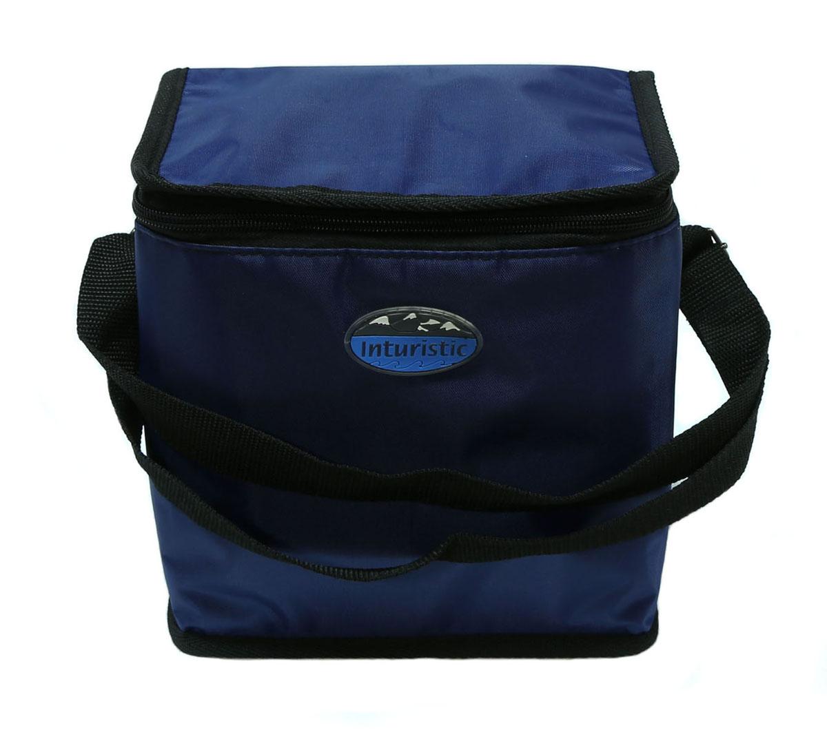 Сумка изотермическая Inturistic, цвет: синий, 6 л сумка изотермическая 25л температурный режим до 12 часов greenglade