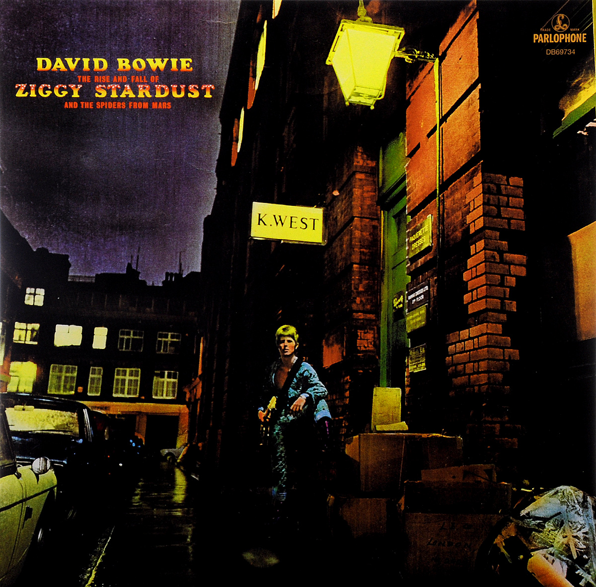 Дэвид Боуи David Bowie. The Rise And Fall Of Ziggy Stardust And The Spiders From Mars (LP) david bowie david bowie the rise and fall of ziggy stardust and the spiders from mars 180 gr