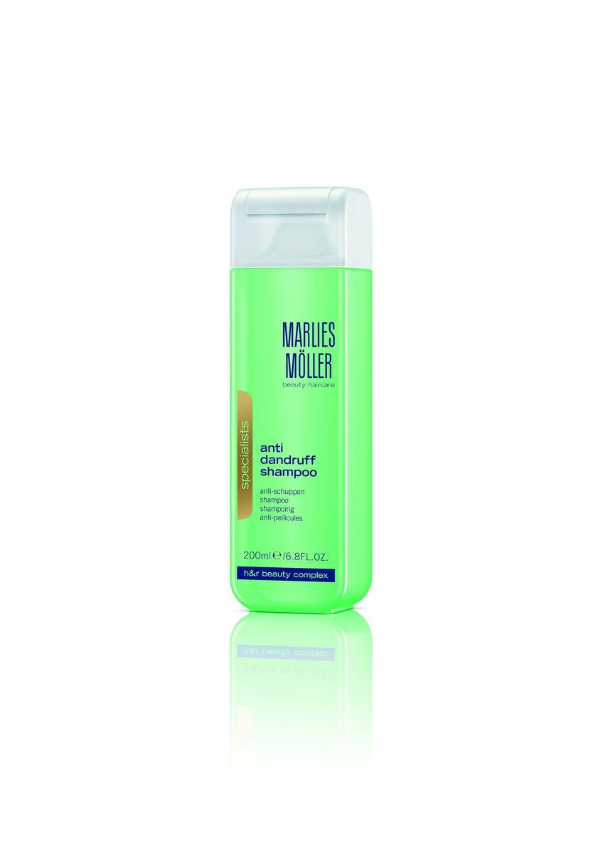 Marlies Moller Specialist Шампунь против перхоти, 200 мл бальзам marlies moller specialist bb beauty balm for miracle hair 100 мл