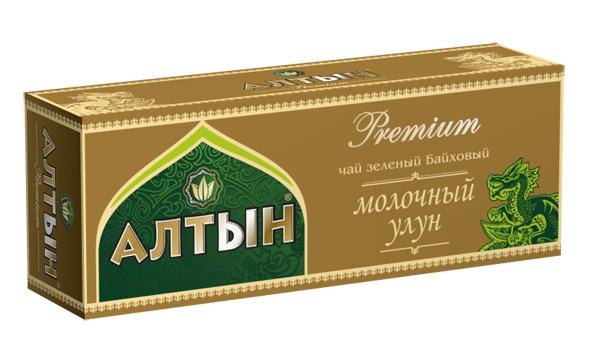 Алтын Premium Молочный Улун зеленый чай в пакетиках, 25 шт алтын mp002xg001rt алтын