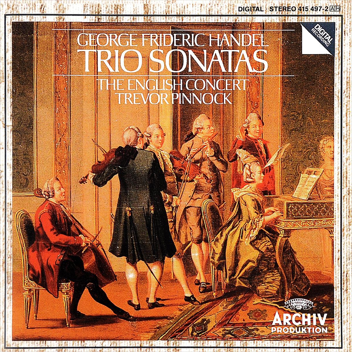 The English Concert,Тревор Пиннок Trevor Pinnock. Handel. Trio Sonatas d scarlatti sonatas