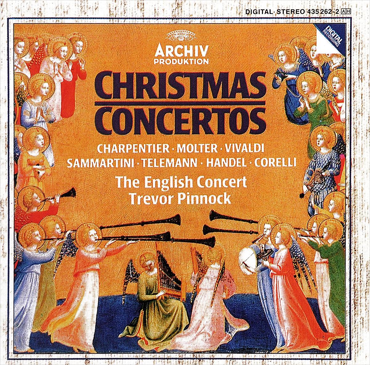 The English Concert,Тревор Пиннок,Саймон Стэндэйдж Trevor Pinnock. Christmas Concertos интерактивная игрушка beezeebee сова от 1 года разноцветный вее019