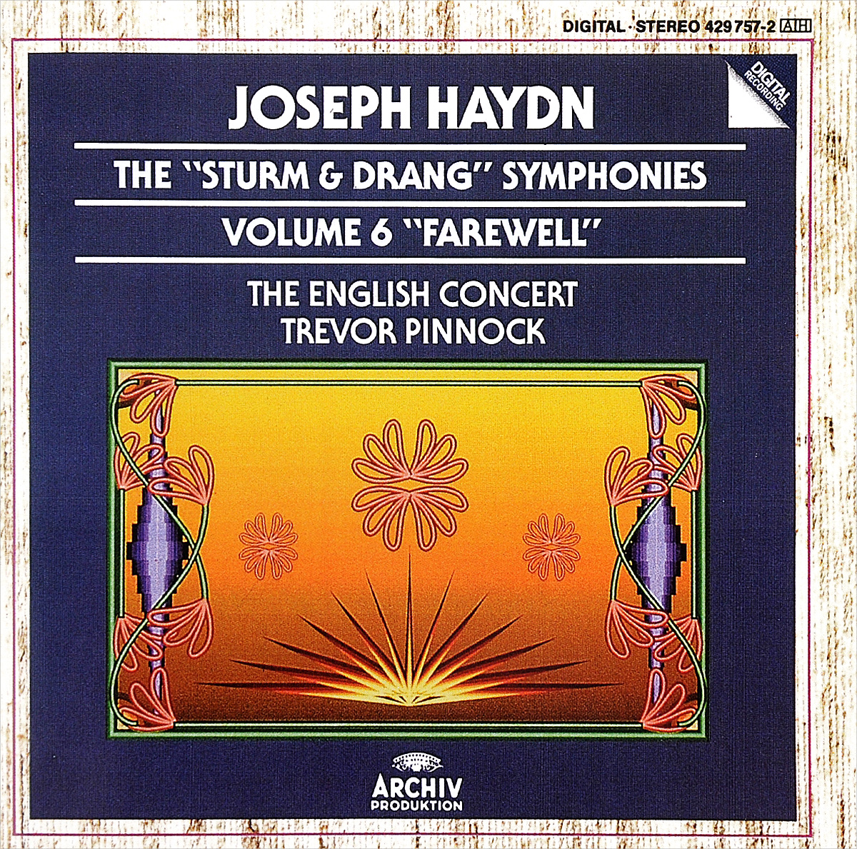 Zakazat.ru: Trevor Pinnock. Joseph Haydn. The Sturm & Drang Symphonies. Volume 6. Farewell