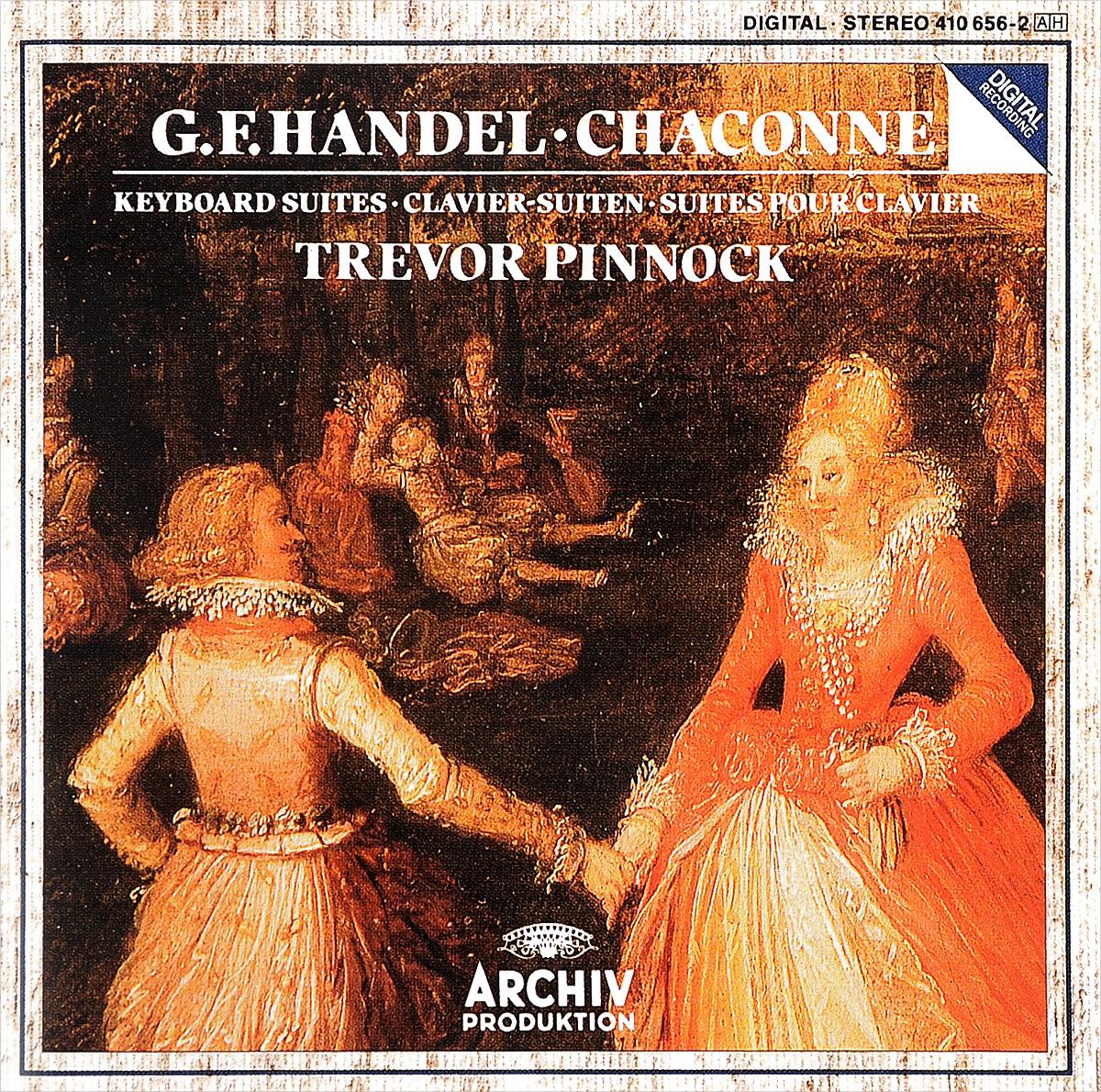 Тревор Пиннок Trevor Pinnock. G. F. Handel. Chaconne / Keyboard Suites münchner philharmoniker elbphilharmonie hamburg
