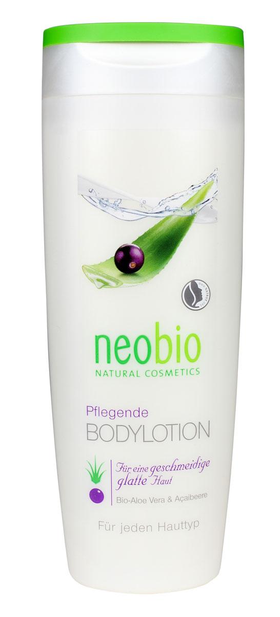 NEOBIO Увлажняющий лосьон для тела, 250 мл косметика для новорожденных neobio детский шампунь гель для волос и тела с био алоэ и био календулой