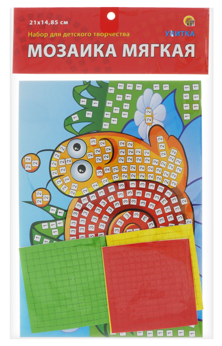 Рыжий Кот Мозаика мягкая Улитка рыжий кот мозаика 250 фишек