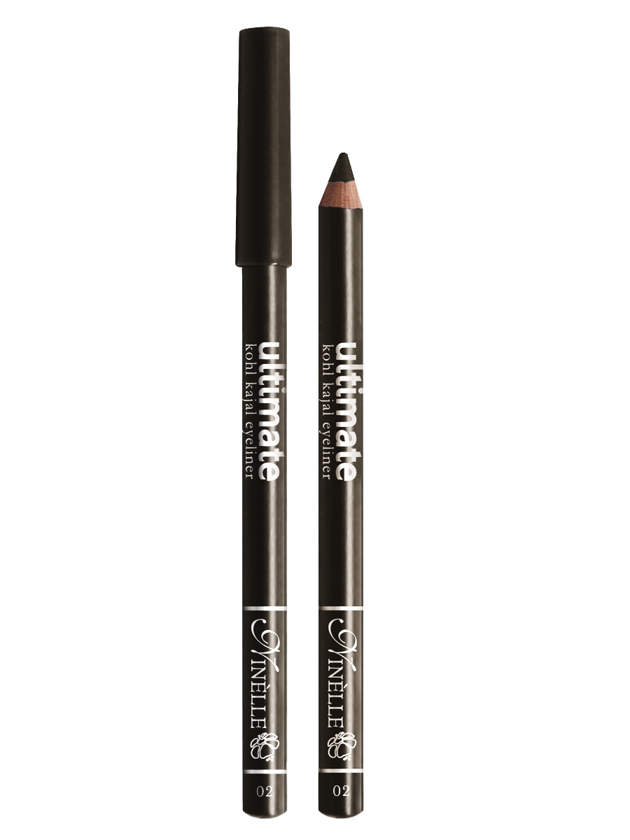 Ninelle Карандаш для глаз Ultimate №02, 1,5 г1053N10762Мягкий и гладкий карандаш для глаз с шелковистой текстурой, позволяющий нарисовать четкую или слегка растушеванную линию. С помощью мягкого карандаша- каяла можно подводить верхнее, нижнее, а также внутреннее веко.
