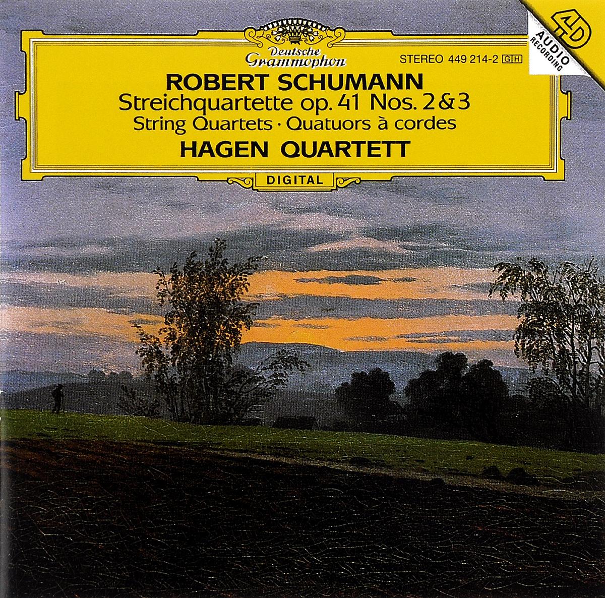 Hagen Quartett Hagen Quartett. Schumann. Streichquartette Op. 41 Nos. 2 & 3 hagen распылитель гибкий 38см page 3
