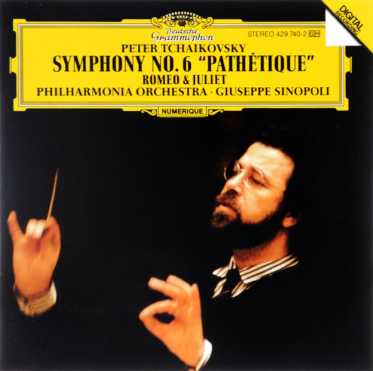 Philharmonia Orchestra,Джузеппе Синополи Giuseppe Sinopoli. Peter Tchaikovsky. Symphony No. 6 / Romeo & Juliet shakespeare william rdr cd [lv 2] romeo and juliet