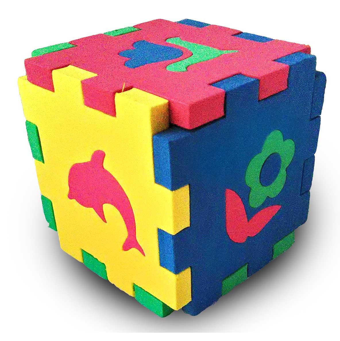 Бомик Пазл для малышей Кубик Мозаика Силуэты бомик пазл для малышей коврик мозаика рыбка