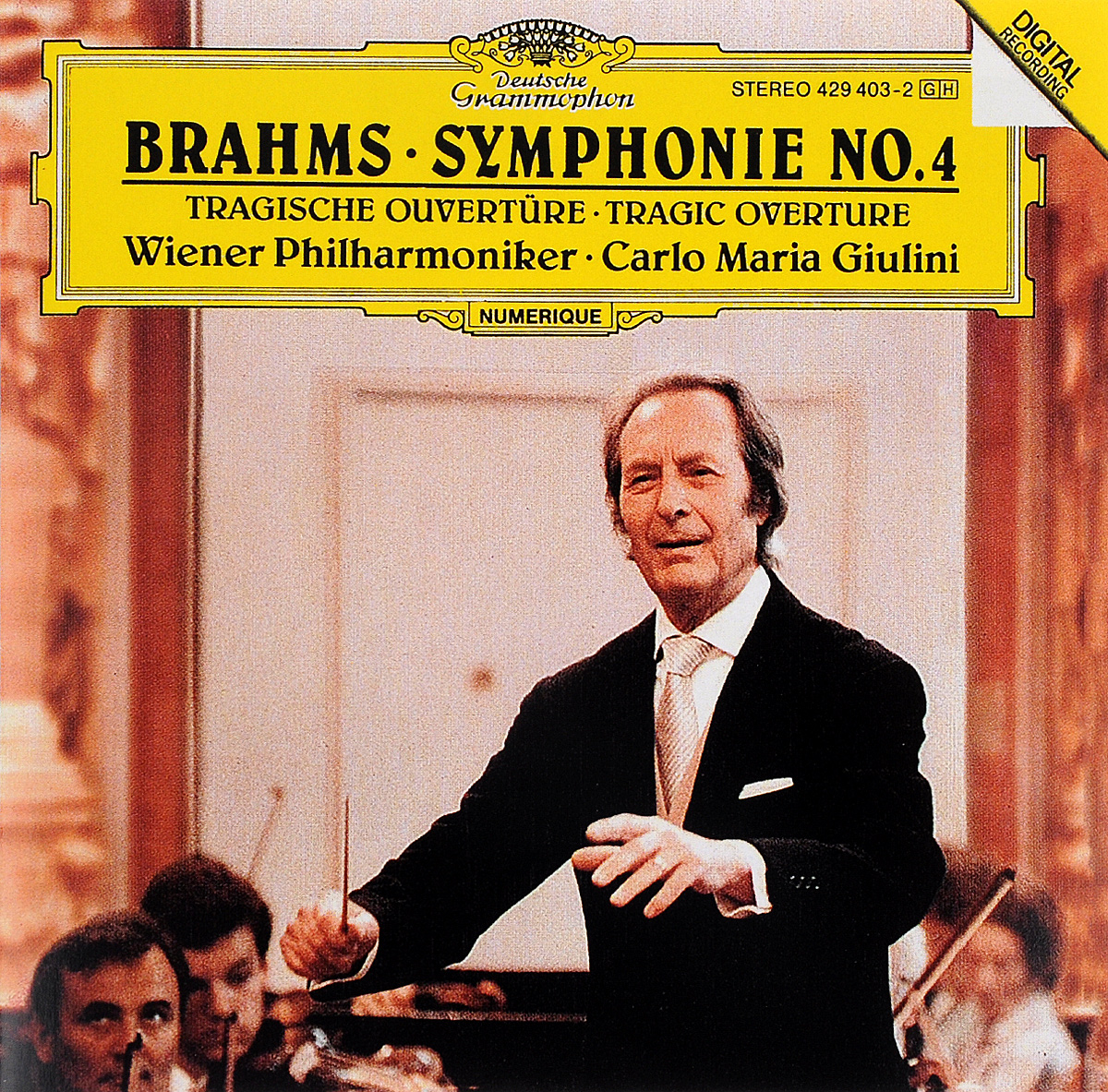 Wiener Philharmoniker,Карло Джулини Carlo Maria Giulini. Brahms. Symphonie No. 4 / Tragische Ouverture hoco mini bluetooth earphone with microphone wireless headset for phone invisible earpiece music in ear hook handsfree for car