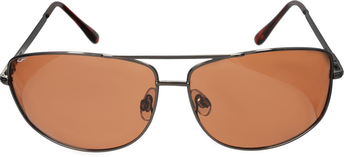 цена на Очки поляризационные Cafa France, цвет: коричневый. CF919