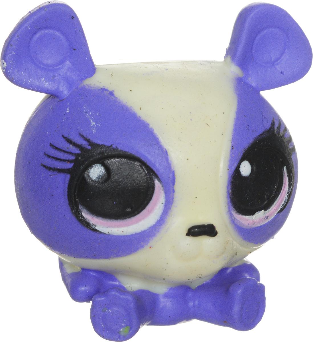 Littlest Pet Shop Фигурка-мялка цвет фиолетовый белый littlest pet shop мягкая игрушка bullena