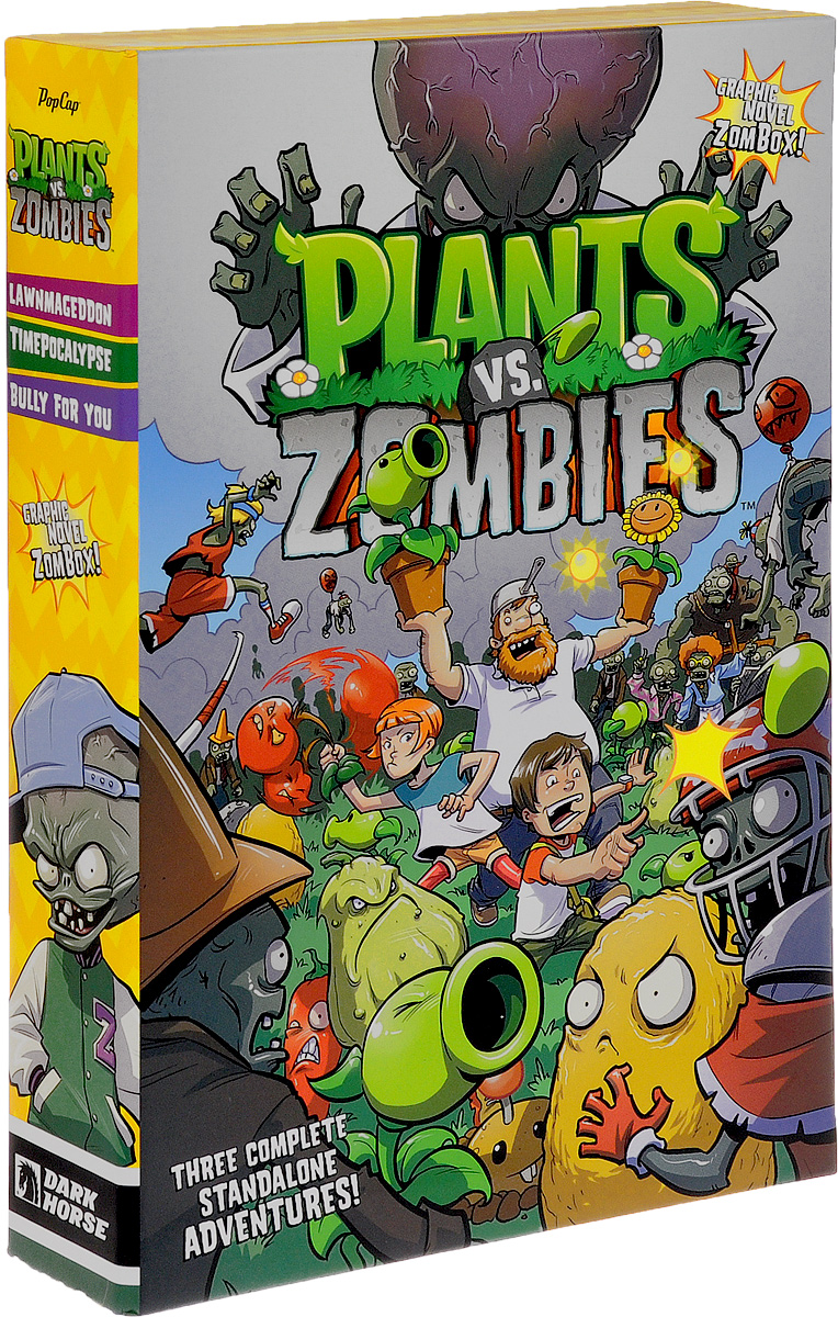 Plants vs. Zombies (комплект из 3 книг) the zombies колин бланстоун род аргент the zombies featuring colin blunstone