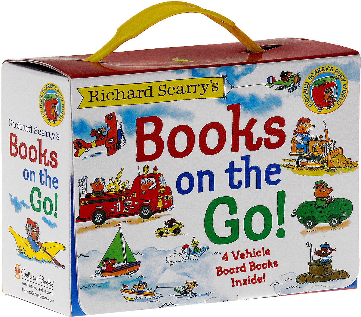 RICHARD SCARRY'S BOOKS ON THE boats puzzle books