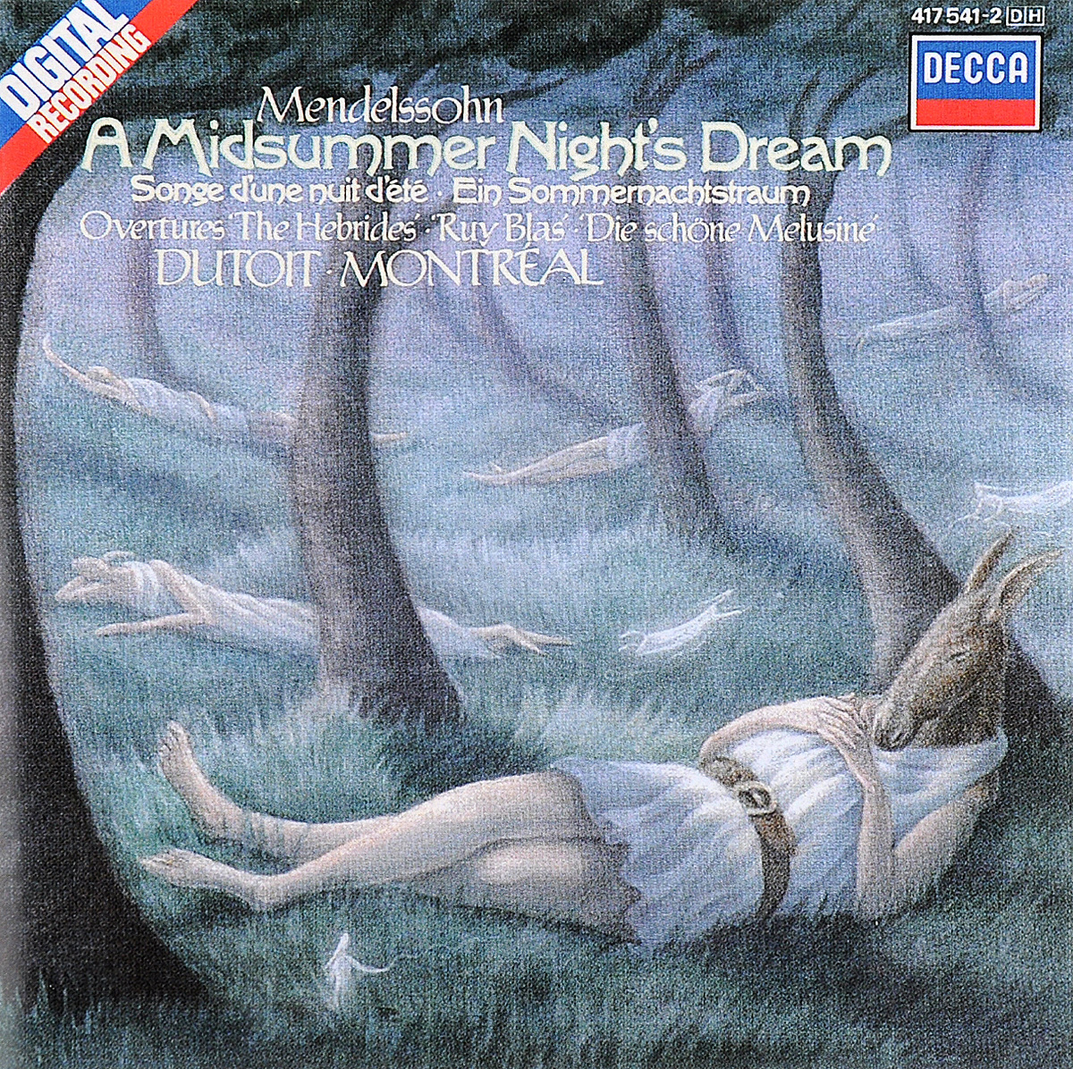 Фото - L'Orchestre Symphonique De Montreal,Шарль Дютуа Charles Dutoit. Mendelssohn. A Midsummer Night's Dream / Overture The Hebrides / Overture The Fair Melusine / Overture Ruy Blas андрэ превен лилиан уотсон делиа уоллис the finchley children s music group the london symphony orchestra колин ховард andre previn mendelssohn a midsummer night s dream