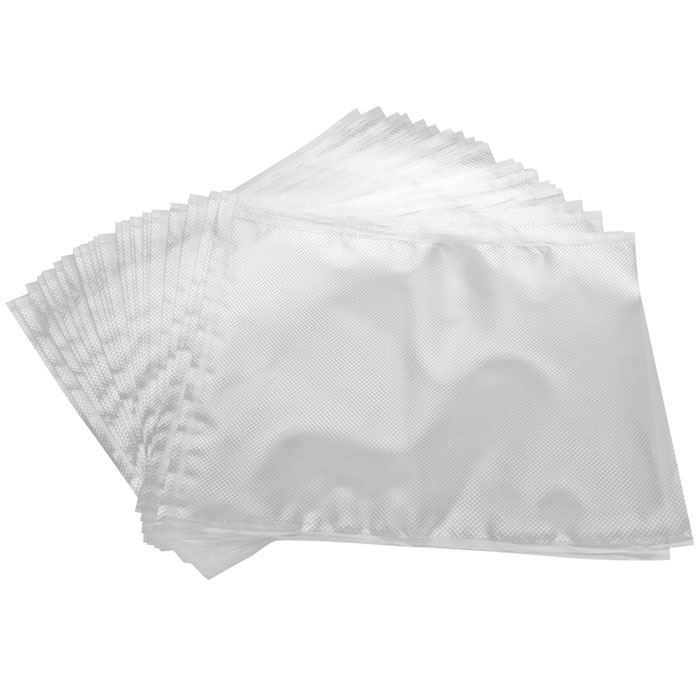 STATUS VB 28х36 пакеты для вакуумного упаковщика, 25 штVB 28*36-25Специальные прочные пакеты STATUS VB 28х36 для вакуумного упаковщика с ребристой структурой. Высокая прочность допускает замораживание, использование в СВЧ печи, готовку по технологии Sous-Vide.Длина пакета: 36 см