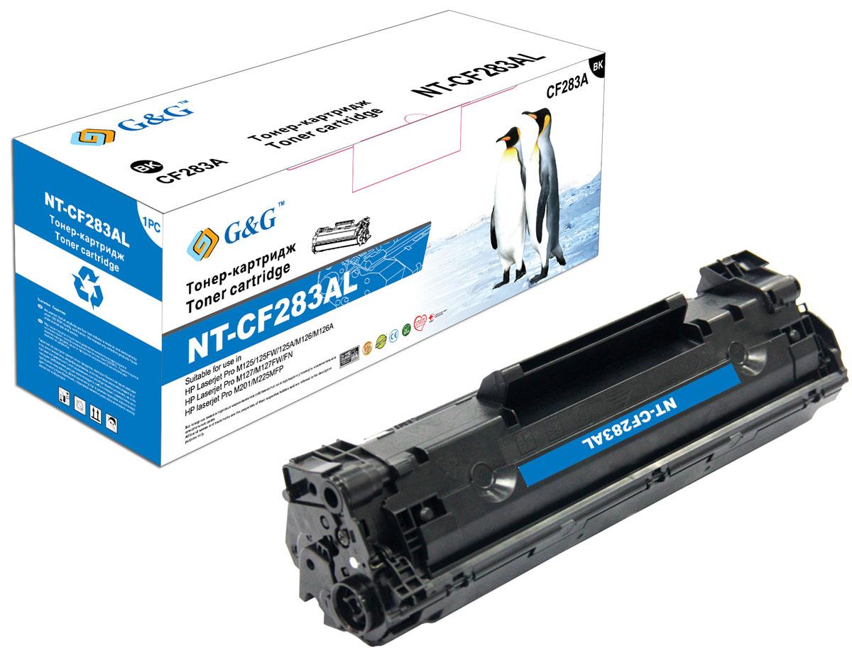 G&G NT-CF283AL тонер-картридж для HP LaserJet Pro M125/M127/M201/M225 new ceramic fuser heating element cartridge heater for hp p1505 m1120 m1522 m1536 p1566 p1606 m201 m202 m225 m225 m125 m126 m127