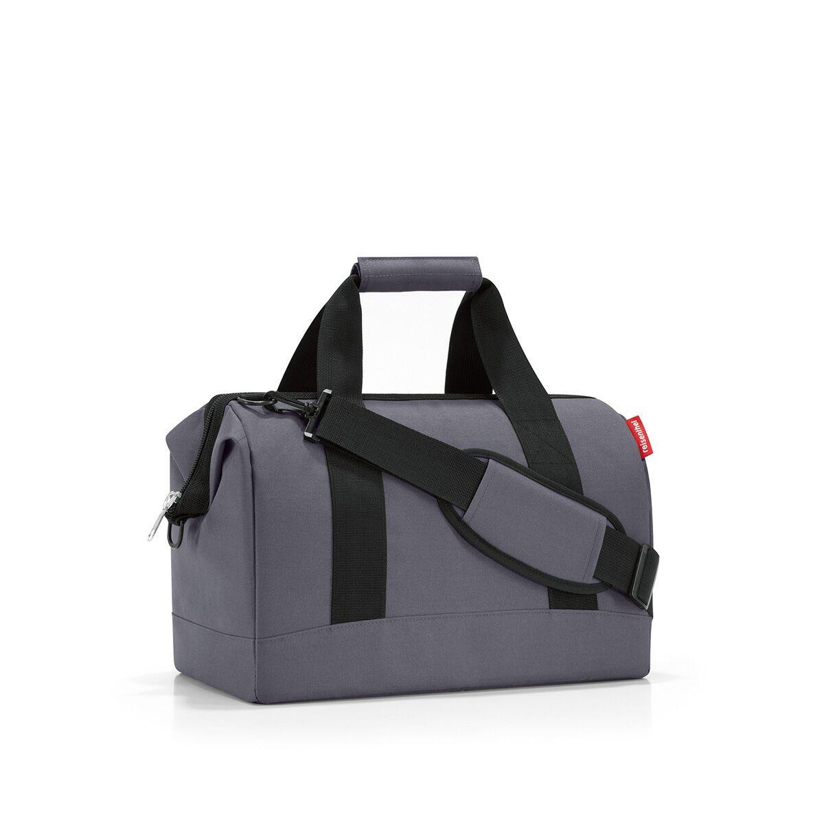 Сумка дорожная Reisenthel, цвет: темно-серый, черный. MS7033 reisenthel сумка allrounder l dots e5x dkcr