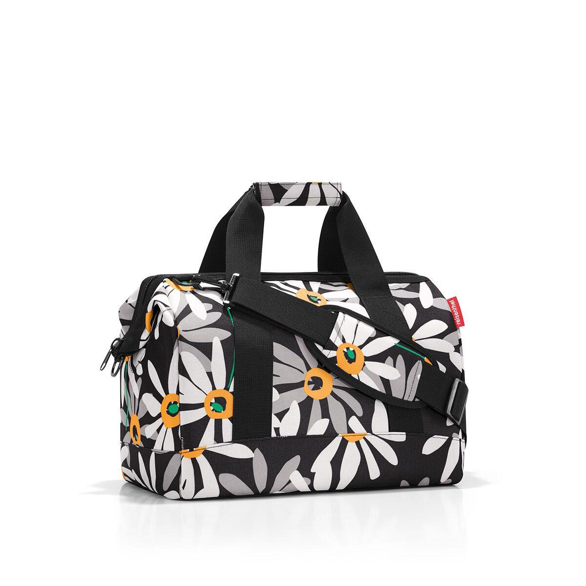 Сумка дорожная женская Reisenthel, цвет: черный, серый, белый. MS7038 сумка reisenthel changebag dots