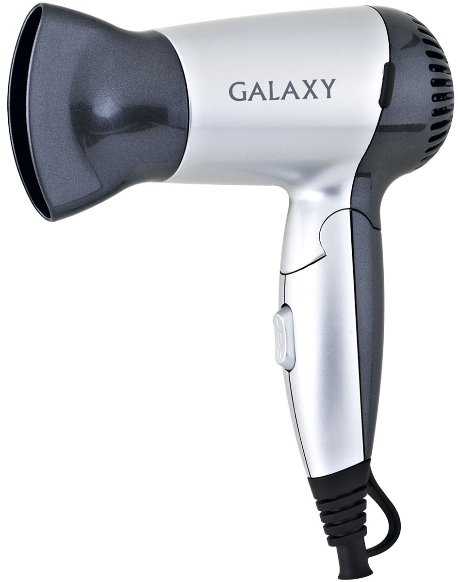Galaxy GL 4303 фен для волос фен galaxy gl4303 1200 чёрный серебристый