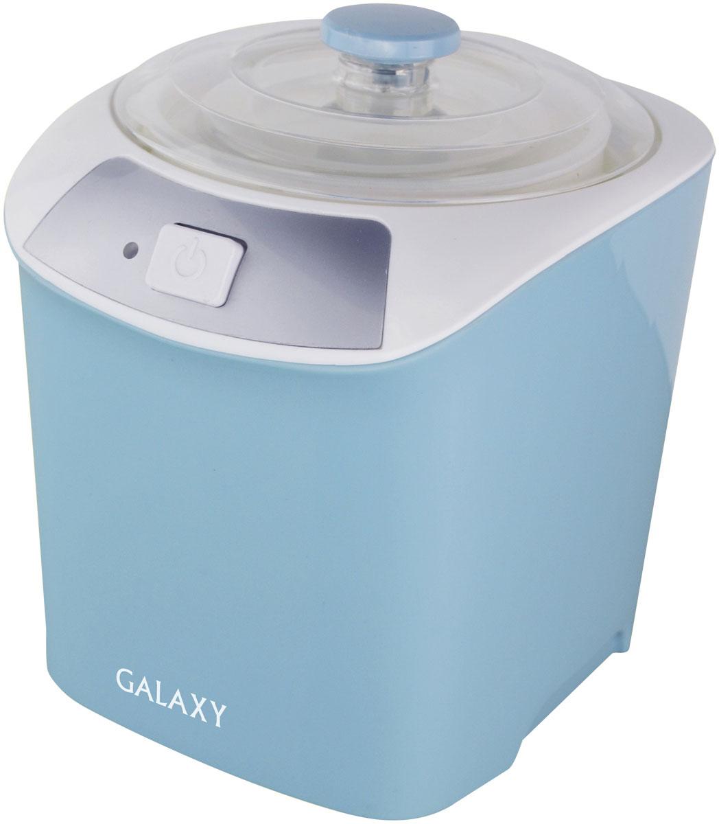 Galaxy GL 2694 йогуртница4650067301945Электрическая йогуртница Galaxy GL 2694 необходима для приготовления в домашних условиях натуральных кисломолочных продуктов без консервантов. С помощью йогуртницы вы можете радовать родных и близких вкуснейшими йогуртами, молочными десертами, домашней сметаной, кефиром. Объем контейнера 1 литр позволяет готовить вкусное и полезное лакомство для большой семьи. Благодаря низкому потреблению электроэнергии вы можете чаще экспериментировать с собственными кулинарными идеями. В свою очередь, элегантный и стильный дизайн йогуртницы органично впишется в самый изысканный кухонный интерьер.