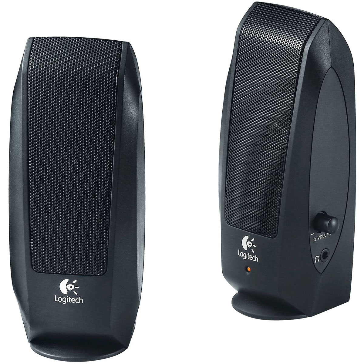 Logitech S120 Speaker System 2.0, Black колонки колонка logitech z523 light speaker system 980 000367 980 000321
