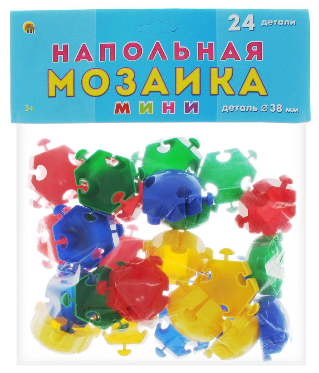 Рыжий Кот Мозаика напольная 24 элемента издательство рыжий кот мягкая мозаика попугай формат а5 21х15 см