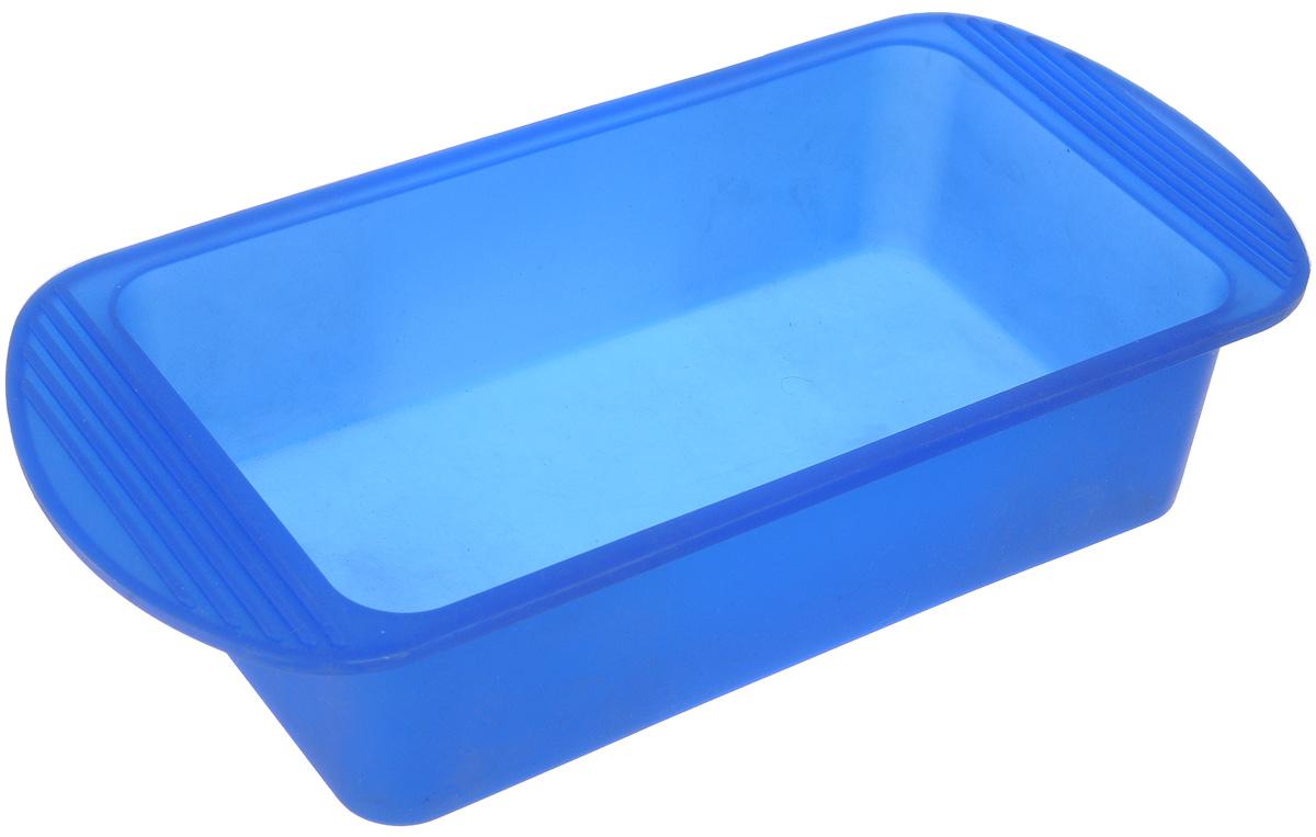 Форма для выпечки Mayer & Boch, силиконовая, цвет: синий, 27,5 х 14 х 6 см4396_синийФорма для выпечки Mayer & Boch изготовлена из высококачественного силикона. Стенки формы легко гнутся,что позволяет легко достать готовую выпечку и сохранить аккуратный внешний вид блюда. Силикон - материал, который выдерживает температуру от -40°С до +210°С. Изделия из силикона очень удобны виспользовании: пища в них не пригорает и не прилипает к стенкам, форма легко моется. Приготовленное блюдоможно очень просто вытащить, просто перевернув форму, при этом внешний вид блюда не нарушится. Изделиеобладает эластичными свойствами: складывается без изломов, восстанавливает свою первоначальную форму.Порадуйте своих родных и близких любимой выпечкой в необычном исполнении.Внутренний размер формы: 20,5 х 11 х 6 см. Как выбрать форму для выпечки – статья на OZON Гид.