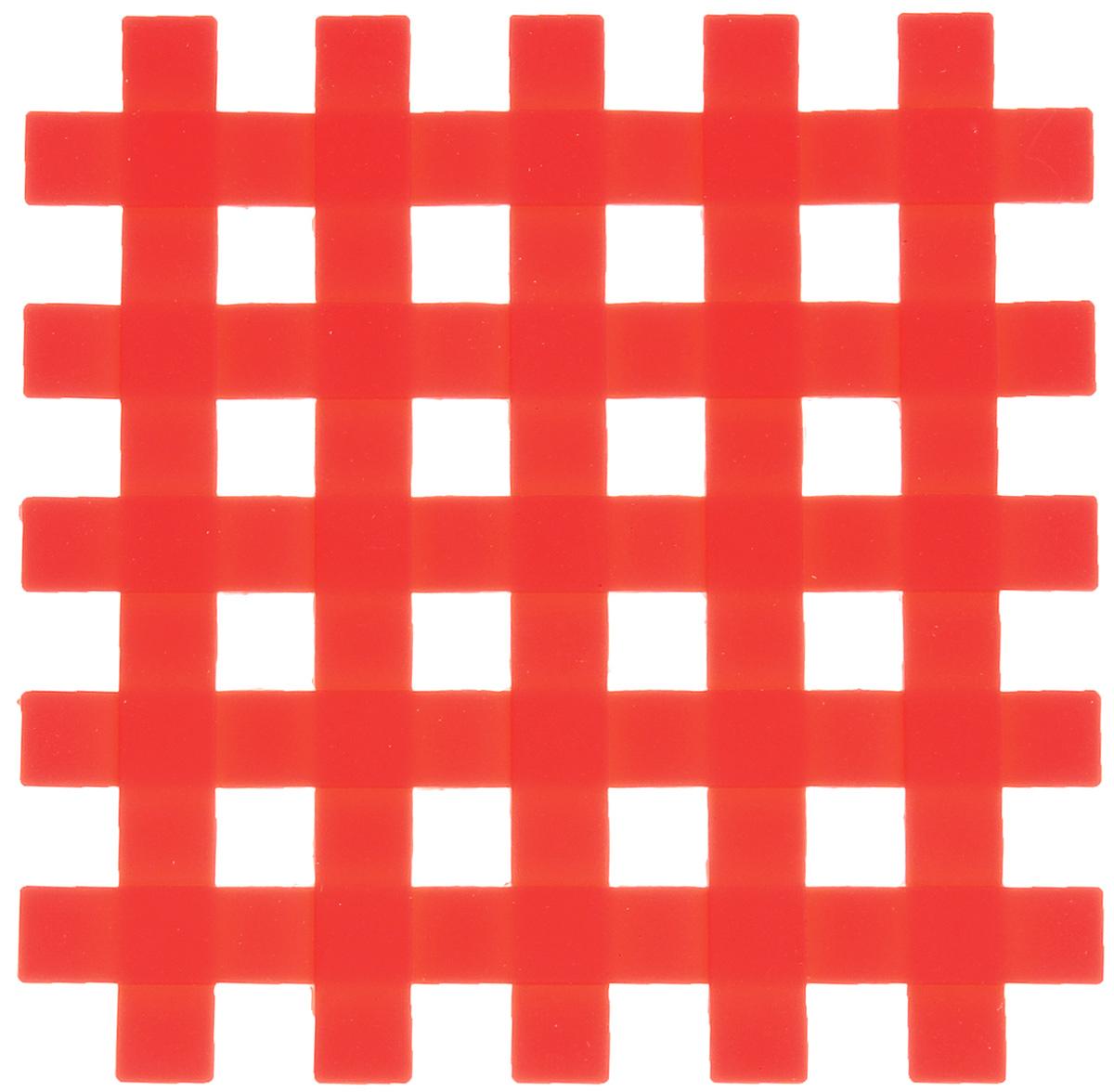 Подставка под горячее Mayer & Boch, силиконовая, цвет: красный, 17 х 17 см20059_красныйПодставка под горячее Mayer & Boch изготовлена из силикона и оформлена ввиде сетки. Материал позволяет выдерживать высокиетемпературы и не скользит по поверхности стола.Каждая хозяйка знает, что подставка под горячее - это незаменимый и очень полезныйаксессуар на каждойкухне. Ваш стол будет не только украшен яркой и оригинальной подставкой, но также вы сможете уберечь его от воздействия высокихтемператур.