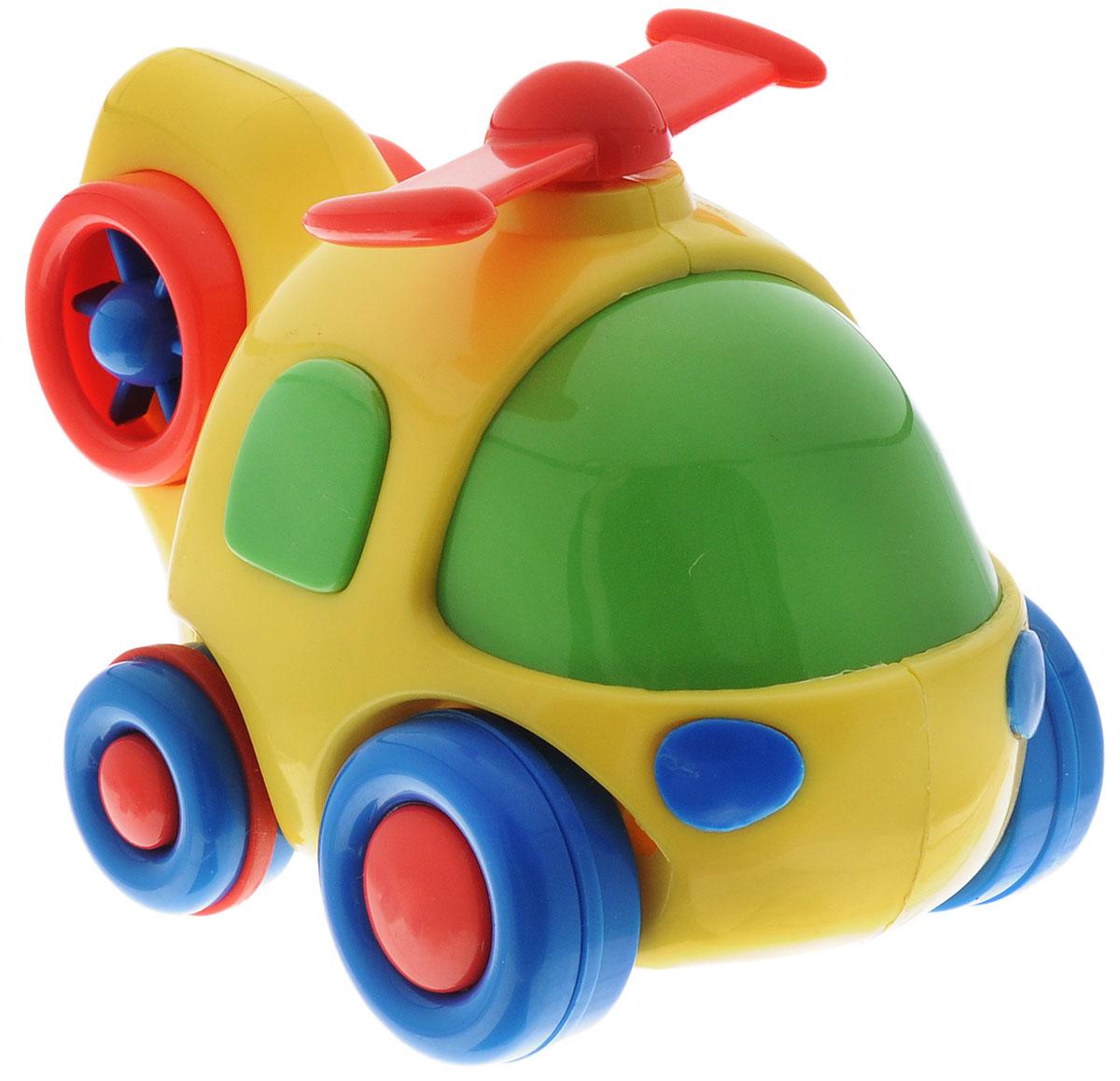 Simba Вертолет инерционный цвет желтый simba паровоз инерционный цвет желтый