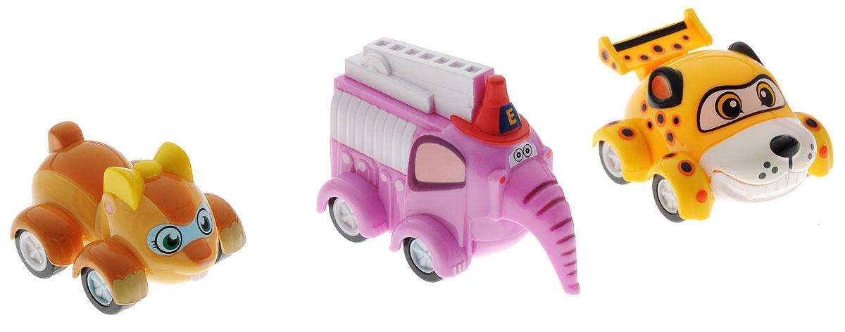 Врумиз Набор инерционных машинок Спиди Софи Слон пожарный машинки врумиз игрушка врумиз функциональная машинка спиди