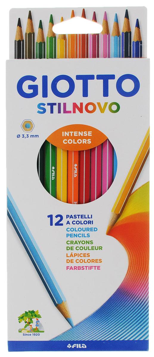 Giotto Набор цветных карандашей Stilnovo 12 цветов200 От производителяЦветные карандаши Glotto Stilnovo непременно, понравятся вашему юному художнику. Набор включает в себя 12 ярких насыщенных цветных карандаша гексагональной формы с серебряным нанесением по ребру грани. Идеально подходят для школы. Карандаши изготовлены из сертифицированного дерева, экологически чистые, имеют прочный неломающийся грифель, не требующий сильного нажатия и легко затачиваются. На рубашке карандаша имеется место для нанесения имени. Порадуйте своего ребенка таким восхитительным подарком!Цветные карандаши Glotto Stilnovo Acquarell непременно, понравятся вашему юному художнику. Набор включает в себя 12 ярких насыщенных акварельных цветных карандаша гексагональной формы с серебряным нанесением по ребру грани. Идеально подходят для школы. Карандаши изготовлены из сертифицированного дерева, экологически чистые, имеют прочный неломающийся грифель, не требующий сильного нажатия и легко затачиваются. На рубашке карандаша имеется место для нанесения имени. Порадуйте своего ребенка таким восхитительным подарком! Набор упакован в удобную металлическую коробку. Характеристики:Материал:дерево, грифель. Диаметр карандаша:0,7 см. Длина карандаша:18 см. Размер упаковки:21,5 см х 9 см х 0,9 см. Изготовитель:Китай.