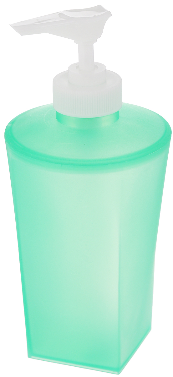 """Дозатор для жидкого мыла Vanstore """"Summer Green"""" изготовлен из прочного пластика. Предназначен для жидкого мыла и разнообразных жидких лосьонов. Дозатором очень легко пользоваться: просто нажмите сверху на дозатор и выдавите необходимое количество мыла. Прозрачные стенки позволяет видеть количество оставшегося мыла. Благодаря классическому дизайну и практичности, такой дозатор идеально подойдет для вашей ванной комнаты или кухни."""