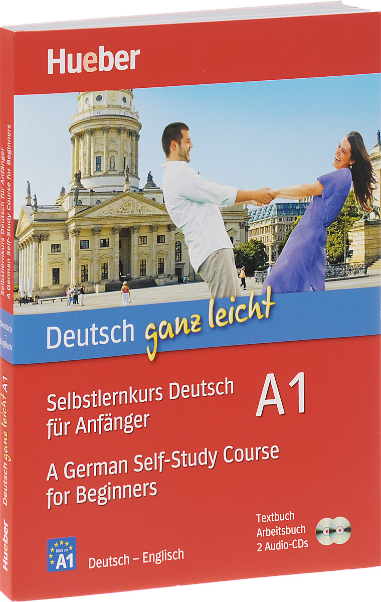 Deutsch ganz leicht A1: Selbstlernkurs Deutsch fur Anfanger / A German Self-Study Course for Beginners (комплект из 2 книг + 2 CD) sarah fleer hier kommt paul leicht