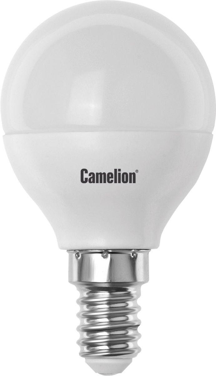 Лампа светодиодная Camelion, холодный свет, цоколь Е14, 3W11375Светодиодная лампа Camelion - это инновационное решение, разработанное на основе новейших светодиодных технологий (LED) для эффективной замены любых видов галогенных или обыкновенных ламп накаливания во всех типах осветительных приборов. Она хорошо подойдет для создания рабочей атмосферы в производственных и общественных зданиях, спортивных и торговых залах, в офисах и учреждениях. Лампа не содержит ртути и других вредных веществ, экологически безопасна и не требует утилизации, не выделяет при работе ультрафиолетовое и инфракрасное излучение. Напряжение: 220-240В/50 Гц.Индекс цветопередачи (Ra): 82+.Угол светового пучка: 180°.Срок службы: 30000 ч.