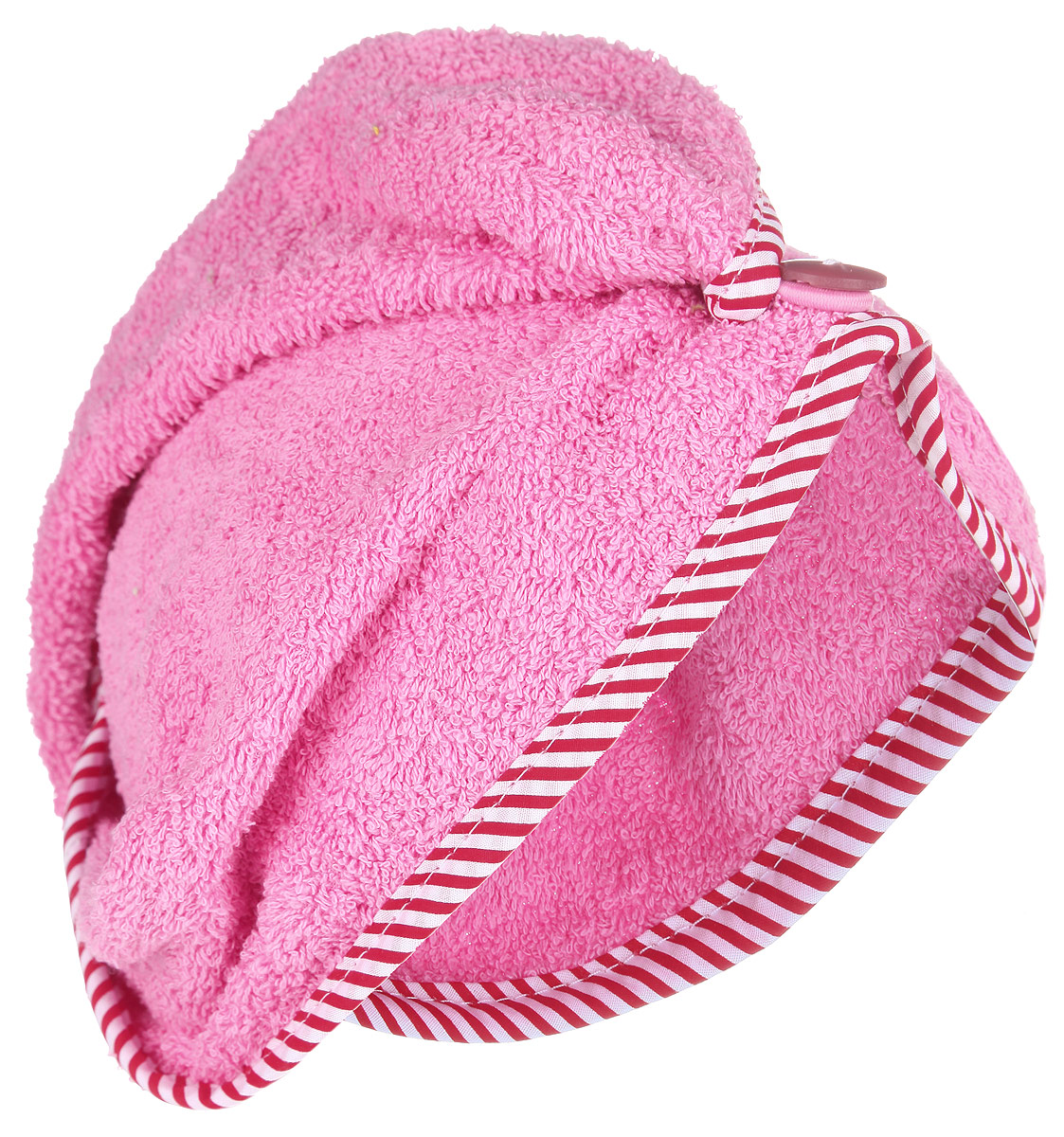 Чалма для бани и сауны Доктор Баня, цвет: розовый905002_розовыйЧалма для бани и сауны Доктор Баня, изготовленная из 100% хлопка, станет незаменимым аксессуаром для любителей попариться в русской бане и для тех, кто предпочитает сухой жар финской бани. Кроме того, чалма защитит волосы от сухости и ломкости, голову от перегрева и предотвратит появление головокружения. Такая чалма станет отличным подарком для любителей отдыха в бане или сауне. Длина: 60 см.